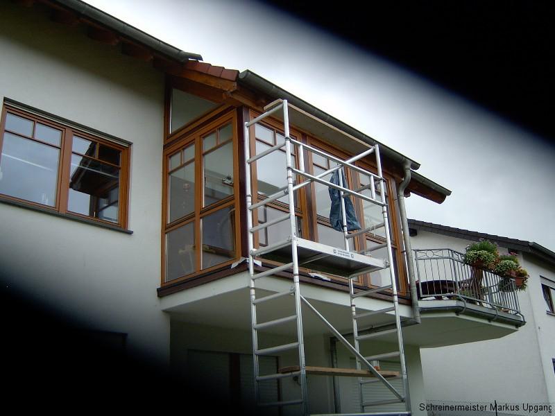Fenster Holzschutz mit Lasur