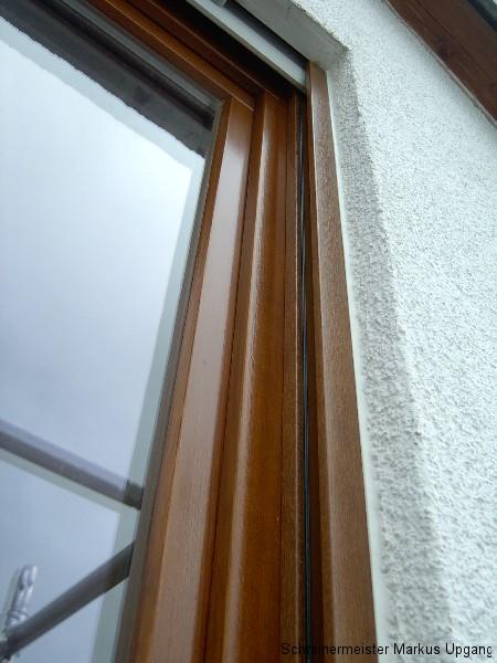 Holzschutz Holzfenster mit Kunststoff