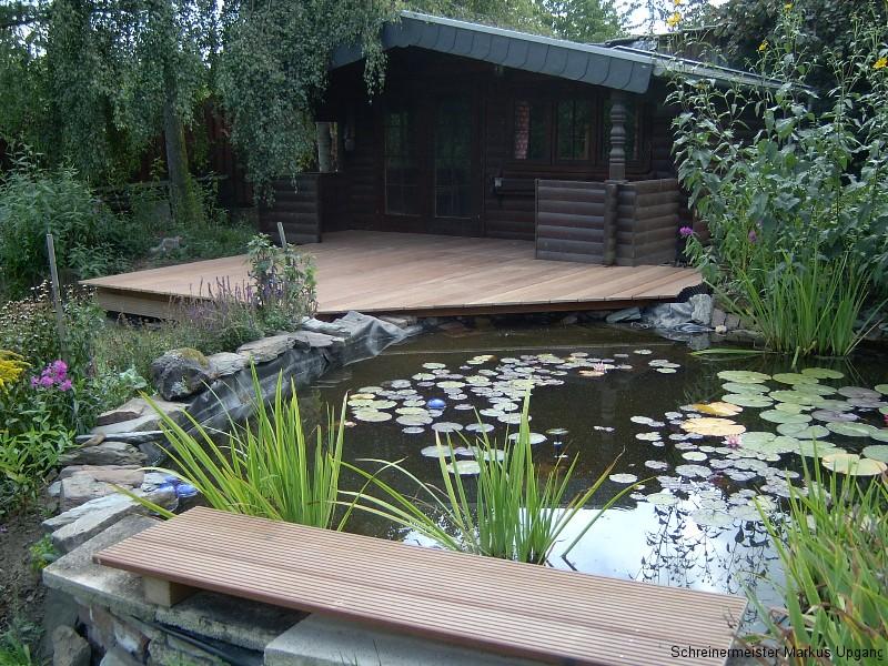 Terrassen am Teich